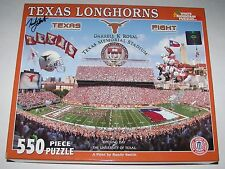 2006 Opening Day TEXAS LONGHORNS 550 Piece WHITE MOUNTAIN PUZZLE Artist Signed