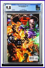 Superman Batman #74 CGC Graded 9.8 DC September 2010 White Pages Comic Book