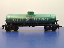 "HO Scale ""Cities Service"" Single Dome Tanker Train Car / CSOX 2549"