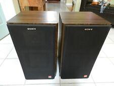 Sony APM 11W Speakers