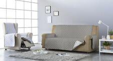Funda de Sofá acolchada reversible para 1, 2, 3, y 4 plazas. protege el sofa