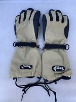 Grandoe Stick It Gloves Removeable fleece Lining - Womens Medium