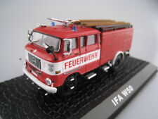 IFA W50  Feuerwehrlöschzug der DDR  ATLAS 1:72