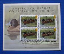 Australia (AD08M) 1996 Wetlands Conservation Souvenir Sheet (MNH)