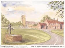 Postcard: Les Bott - The Village Pump (Pilkington Family Trust)