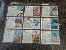 1962 Post CFL футбол карточка набор (все Sp 'S в комплекте) удивительном состоянии