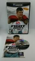 Fight Night Round 2 Video Game for Nintendo GameCube PAL TESTED