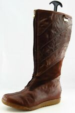 Sorel Size 7.5 M Round Toe Brown Long Leather Boots