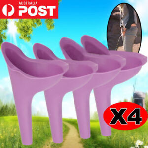 Best Camping She Portable Pee Female Urinal Wee Funnel Woman Urine Travel X4
