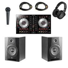 Pioneer DJ System DDJ-SR2/Yorkville YSM8 Complete Professional DJ Studio