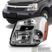 2005-2009 Chevy Equinox Headlight Headlamp Replacement 05-09 Left Driver Side