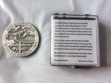 Wheatstone LNG Project  Medallion  Coin  20 Million Hours LTI Free  Rare Buckle