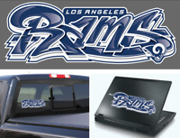 Los Angeles Rams Graffiti Vinyl Vehicle Car Laptop Wall Sticker Decal