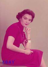 Connie Francis Vintage  5  X  7  Transparency