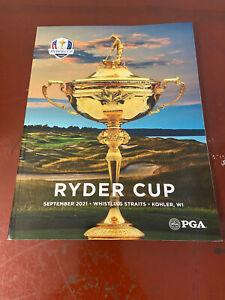 2021 Ryder Cup PGA Golf Official Program