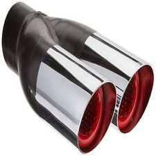 Hedman Hedders 17104 Dual Resonator, Hot Tips Weld-On Exhaust Tip