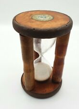 More details for vintage early 20th century industrial mill bobbin/cotton reel sand timer c1910