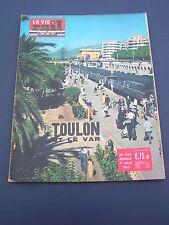 vie du rail 1962 853 TOULON VAR SAINT TROPEZ HYERES PORQUEROLLES