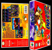 Bust A Move 99 - N64 Reproduction Art Case/Box No Game.