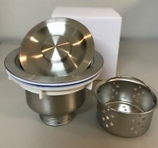 Stainless Steel Kitchen Sink Drain With Removable Basket *Us Seller !