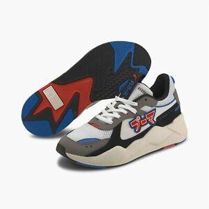 Puma RS-X Japanorama Men's Running Training Shoes White Grey Blue 374294 01