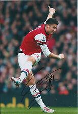 Olivier GIROUD Signed Autograph 12x8 Photo AFTAL COA ARSENAL Premier League RARE