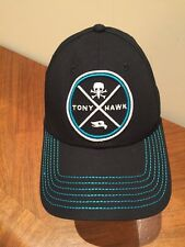 Tony Hawk Skate Black/Blue Cap Hat SnapBack