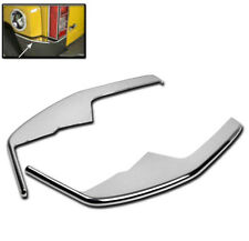 06-10 HUMMER H3 REAR BUMPER CORNER COVER TRIM FRAME ABS CHROME 07 08 09 NEW PAIR