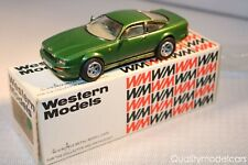 Western models WP 19 Aston Martin Virage 1989 green mint in box a beauty