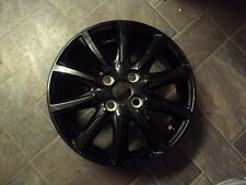 "TOYOTA AYGO BLACK GENUINE WHEEL 15 "" X 4.5J ET35 ACCESSORIES IDEAL SPARE 2016"