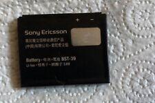 Batería Original SONY ERICSSON BST-39 ajusta W910i W380i W508i T707 Z555i 3.6 V