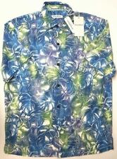 Tommy Bahama Island Zone BT Caicos Green S//S Men/'s Shirt NWT $140 Choose Size