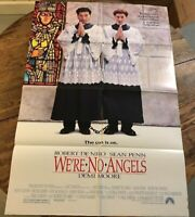 "WE'RE NO ANGELS 1989 onesheet movie poster 27""X41"" ROBERT DENIRO, SEAN PENN"