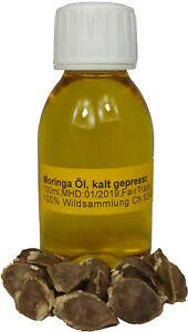 Moringaöl Moringa Oleifera Öl 100ml frisch kaltgepresst Behen Öl Premium Samen