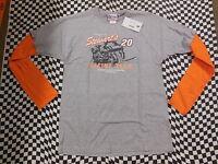 Tony Stewart #20 The Home Depot Long Sleeve T-shirt! Sizes: L, XL, or 2XL - 7414
