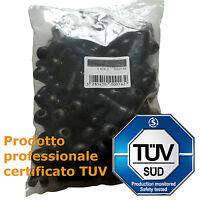 10 Valvole TR418 Tubeless per cerchi auto Valvola gomma LUNGA 57mm  tubeless