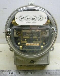 Vintage Westinghouse Watthour Meter 0A OA