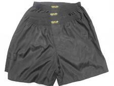 3 Pairs Black Thai Silk Boxer Shorts Underwear Sleepwear Large L