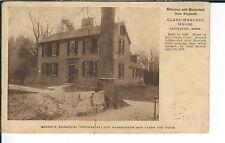 AY-145 - Brown's Bronchial Troches, Clark Hancock House Advertising Postcard