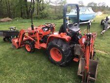 kubota tractor 4x4 Backhoe Loader