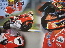 Poster Marlboro Team Kanemoto Honda NSR250 1997 #1 Max Biaggi (ITA)