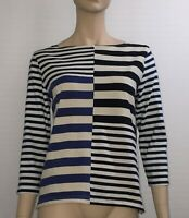 J CREW SIZE S STRIPED LONG SLEEVE TOP