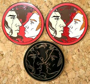 Star Wars KYLUX FANTASY PIN Kylo Ren General Hux red ART red glitter Black gold