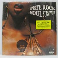 PETE ROCK - Soul Survivor 2LP 1998 ORIG LOUD CL SMOOTH WU-TANG HIP HOP w/ inner