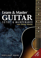 NEW - Learn & Master Guitar Setup And Maintenance 3-Dvd Set