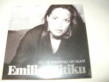 EMILIA MITIKU - YOU'RE BREAKING MY HEART - UK PROMO CD SINGLE