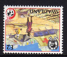 More details for swaziland 1989 2e red cross wmk crown to right of ca sg 556w mnh.