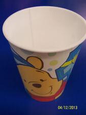 RARE Winnie the Pooh 1st Birthday Boy Blue Kids Party Favor 16 oz. Plastic Cup *