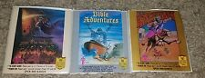 Wisdom Tree Label Lot Bible Adventures, Exodus, King of Kings Nintendo NES