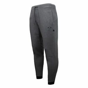 Oakley Mens Tech Knit Track Pants Casual Training Grey Joggers 422311 24G